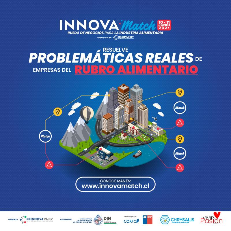 InnovaMatch2021: ¡Buscamos tus soluciones para la industria alimentaria!📣